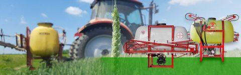 Veliki izbor traktorskih prskalica različitih zapremina i širina grana.
